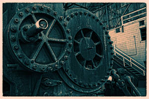 Abandoned Furnace - Crank by cjheery