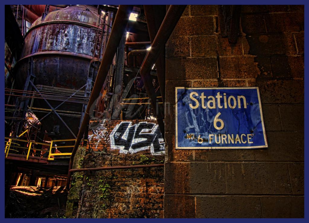 Abandoned Furnace - Station 6 by cjheery