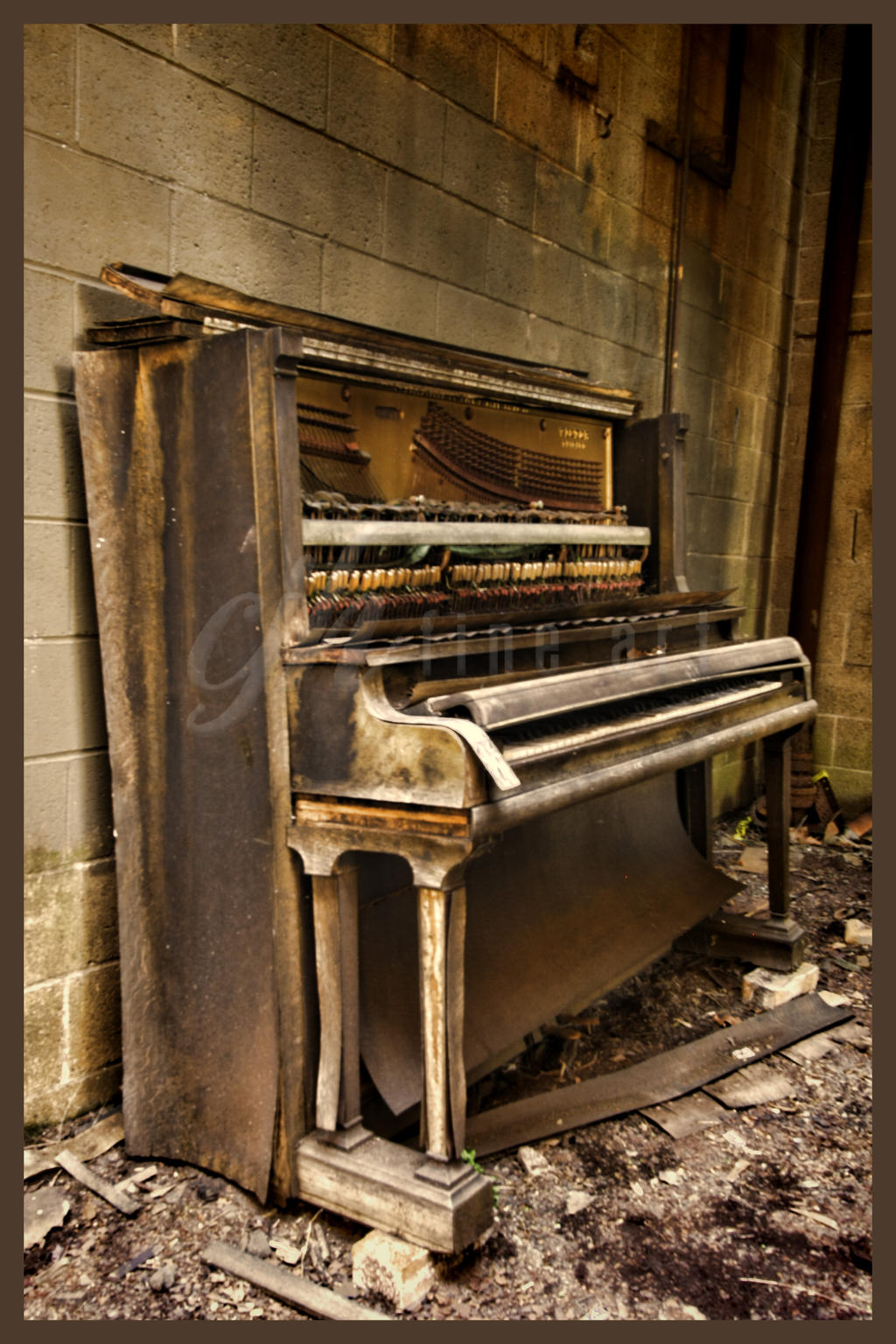Abandoned Furnace - Piano by cjheery