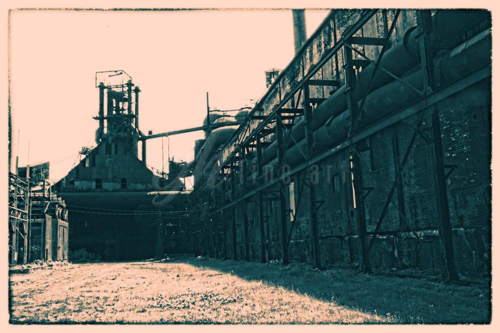 Abandoned Furnace - Building Outside by cjheery