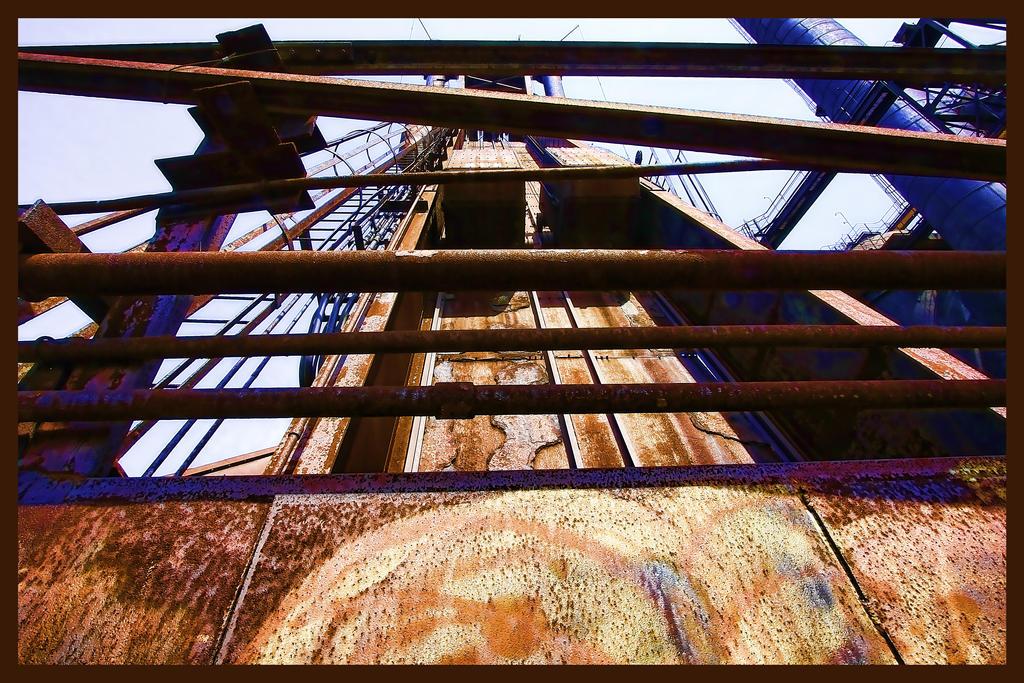 Abandoned Furnace - Up by cjheery