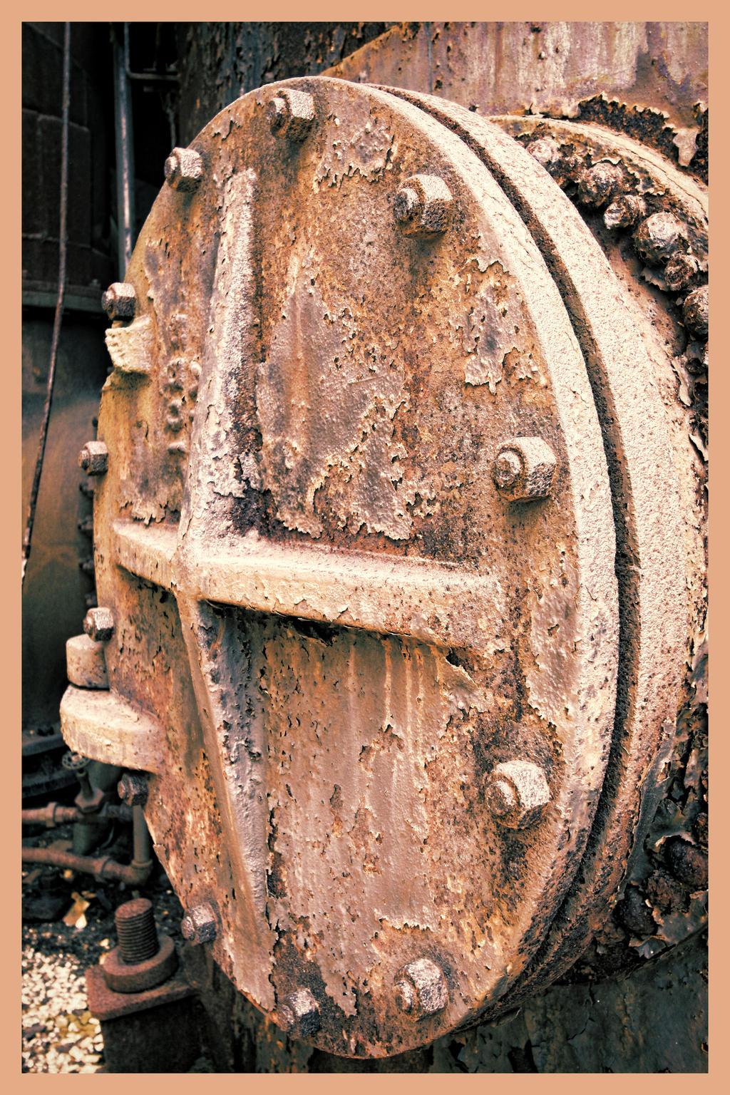 Abandoned Furnace - X by cjheery