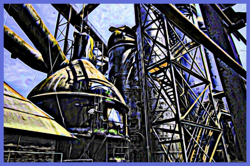 Abandoned Furnace - Electrified by cjheery