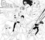 One Piece Power Max - lineart by Nesskain