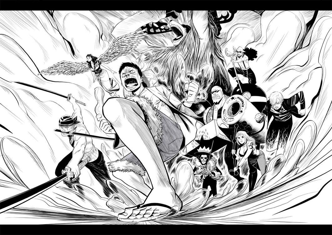 One Piece by Nesskain