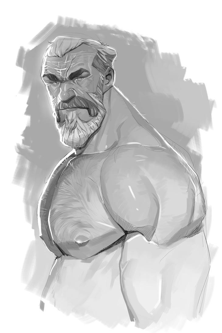 Grey doodle 2 by Nesskain