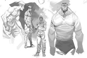 Grey doodle 3 by Nesskain
