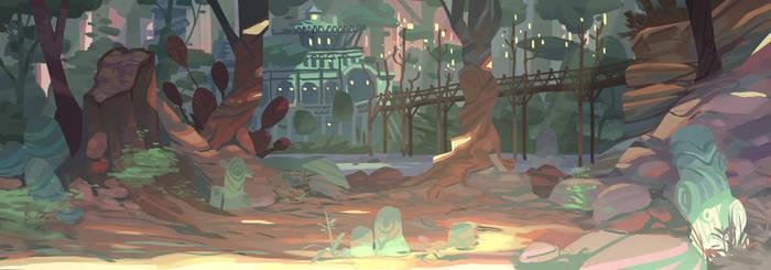 Landscape by Nesskain