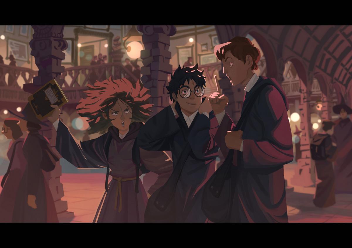 Harry Potter 3 By Nesskain On Deviantart