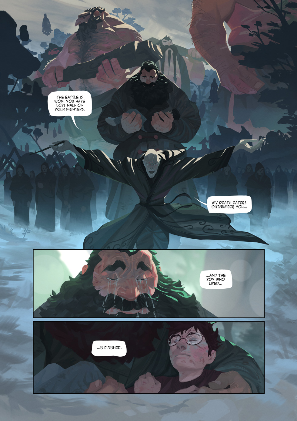 Harry Potter And The Deathly Hallows By Nesskain On Deviantart