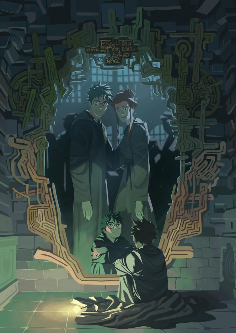 The Mirror of Erised by Nesskain on DeviantArt