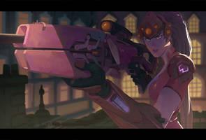 Overwatch - Widowmaker by Nesskain