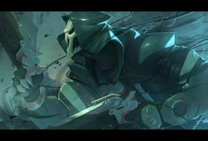 Overwatch - Reaper by Nesskain