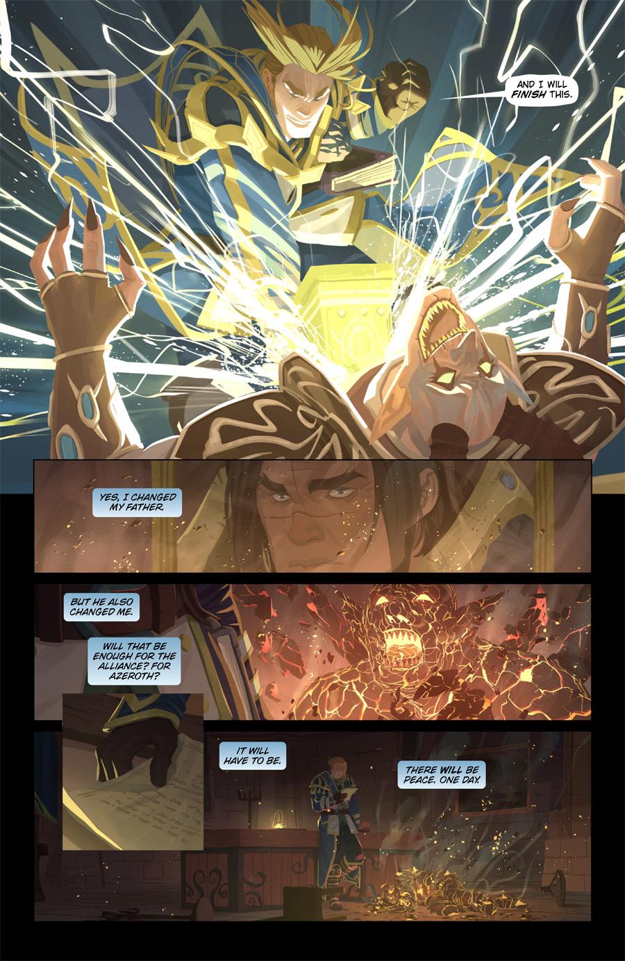 World of Warcraft -Legion - Anduin p8 by Nesskain