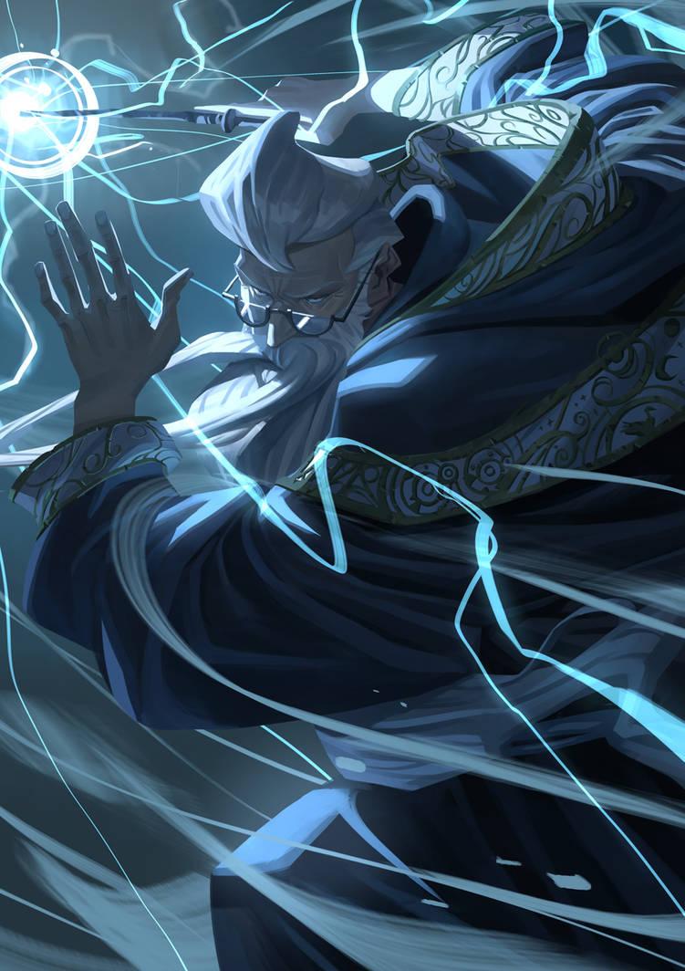 The greatest wizard by Nesskain