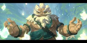 Zelda - Goron by Nesskain