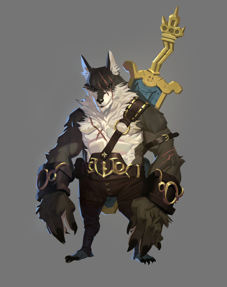 Character Design College Major : The fourteen gold weapons thief by nesskain on