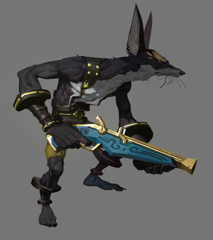 The Fourteen Gold Weapons - The Hunter
