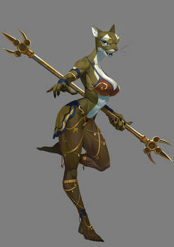 The Fourteen Gold Weapons - The Dancer