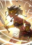 Warrior by Nesskain