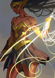 Princess of Themyscira by Nesskain