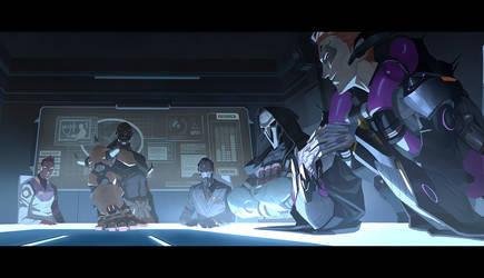 OW Moira Origin Story part 4/5 by Nesskain