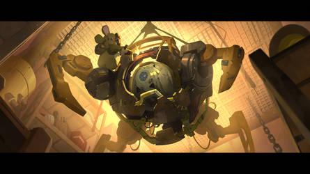 Wrecking Ball Origin Story 5 by Nesskain