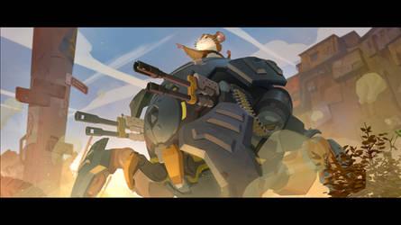 Wrecking Ball Origin Story 7 by Nesskain