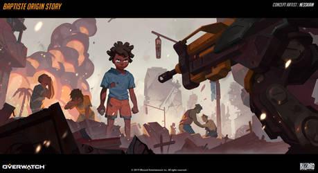 Baptiste Origin Story - 01