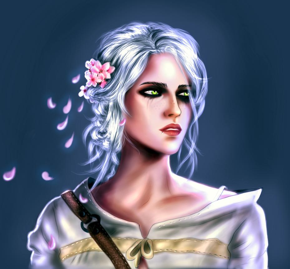 Ciri Witcher 3 by elegnis