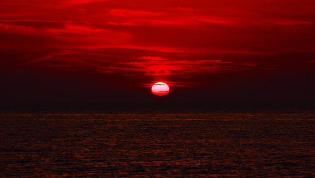 Westward Ho! Sunset by whimsicalworks