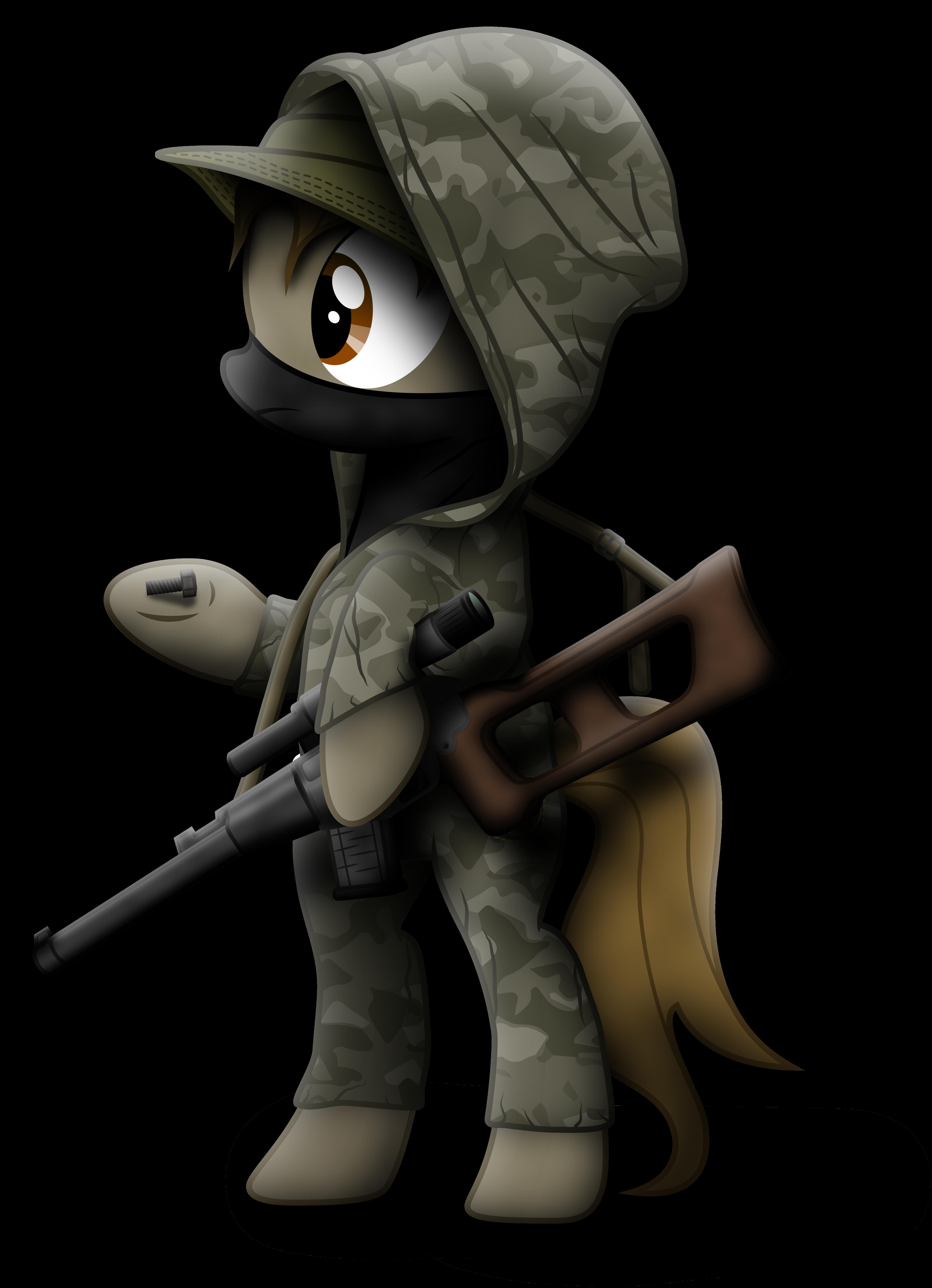 S.T.A.L.K.E.R. Pony by KiOWA213