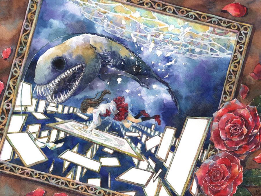 Ib - Into the Deep World by miimork