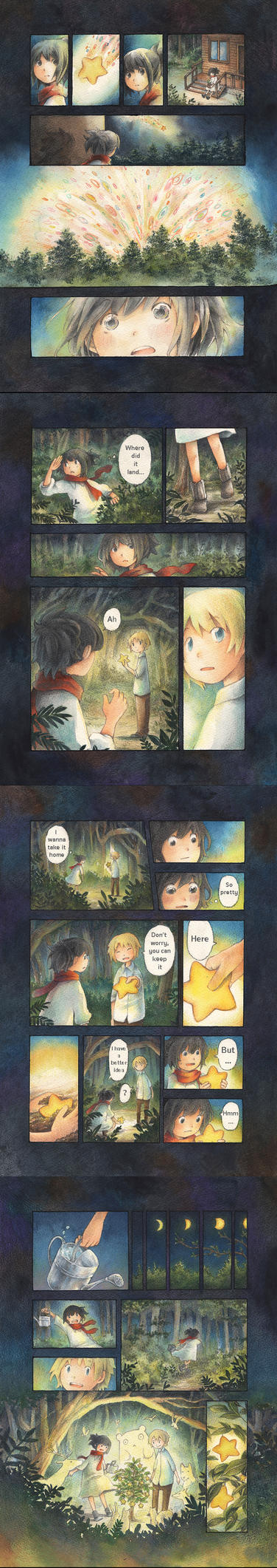 [comic] Seed of star by miimork