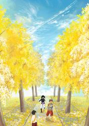 Yellow Line by miimork