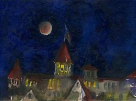 Eclipse Over Hotel Del Coronado