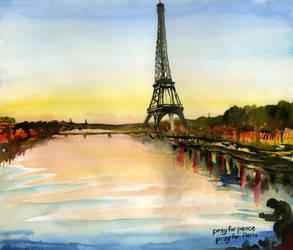 Pray for Peace, Pray for Paris