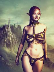 elf Warrior by blindblues46