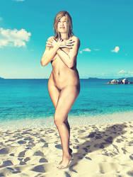 Beach Fat Girl Web by blindblues46