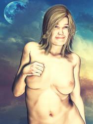 Beach Fat Girl 2 Web by blindblues46