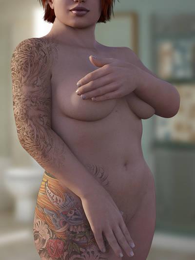 Nude 001 Web by blindblues46