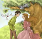 Princess Irene and Curdie