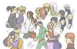 Naruto doodles