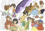 Unforgetable Childhood - doodles