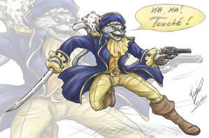 Captain Claw by sarumanka