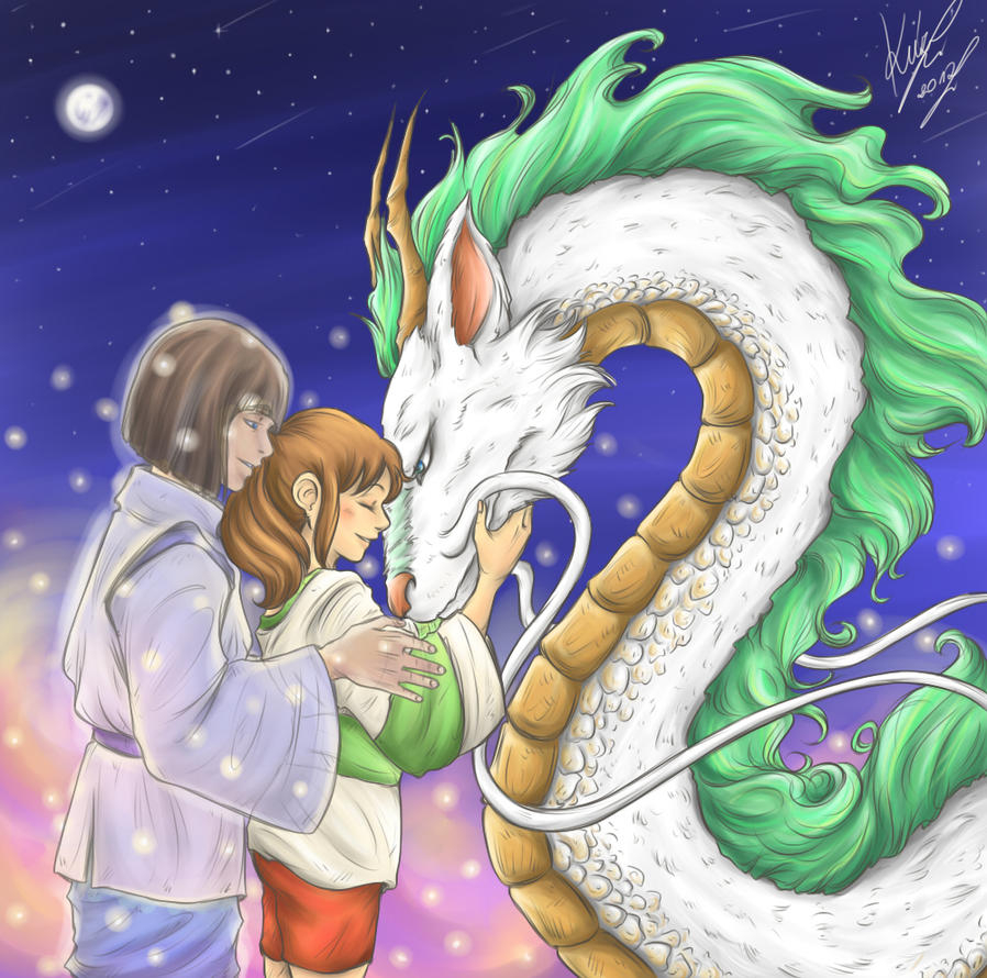 Spirited Away by sarumanka