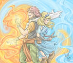 Natsu and Lucy Dragneel