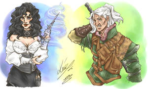 The Witcher and The Witch
