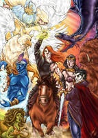 Heroes of Might and Magic by sarumanka