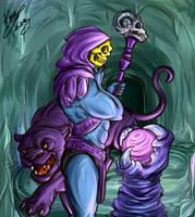 Mighty Skeletor by sarumanka